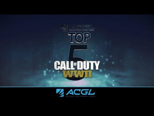 ACGL Top 5 |  Call of Duty | January