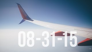 Leaving Chicago   8/31/15   Vlog