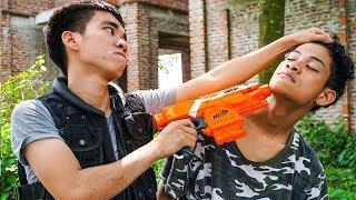 Hihahe Nerf War: SWAT & Special Forces Nerf Guns Female Spy Nerf War