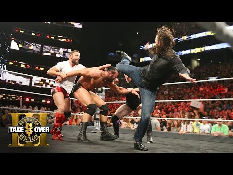 Adam Cole makes his NXT debut with a savage superkick on Drew McIntyre: NXT TakeOver: Brooklyn III