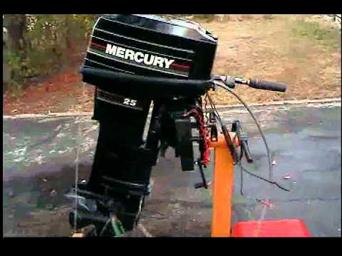 New Mercury 25hp tiller 2 stroke outboard longshaft