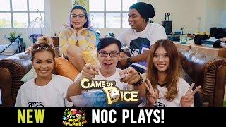NOC Plays Game of Dice (Food Challenge)