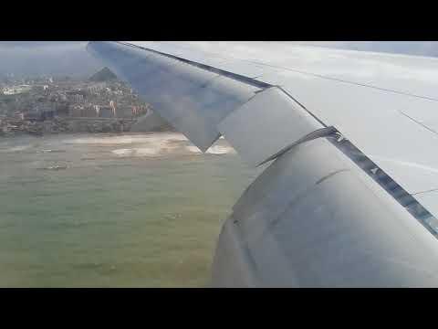 Landing beirut air port