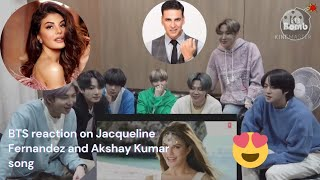 BTS reaction on Jacqueline and Akshay 😭