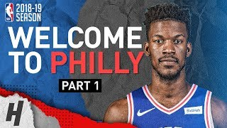 BREAKING NEWS: Jimmy Butler to Philadelphia 76ers! Offense Highlights from 2018-19 Season! Part 1