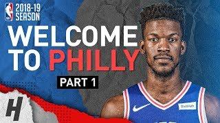 BREAKING NEWS: Jimmy Butler to Philadelphia 76ers! Offense Highlights from 2018-19 Season! Part 1
