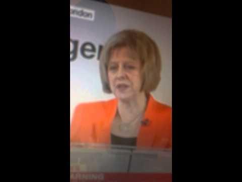 Extremism warning by UK Home secretary