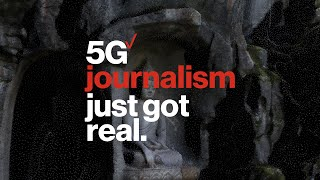 5G Journalism Just Got Real with iPhone 12 Pro | New York Times | Verizon