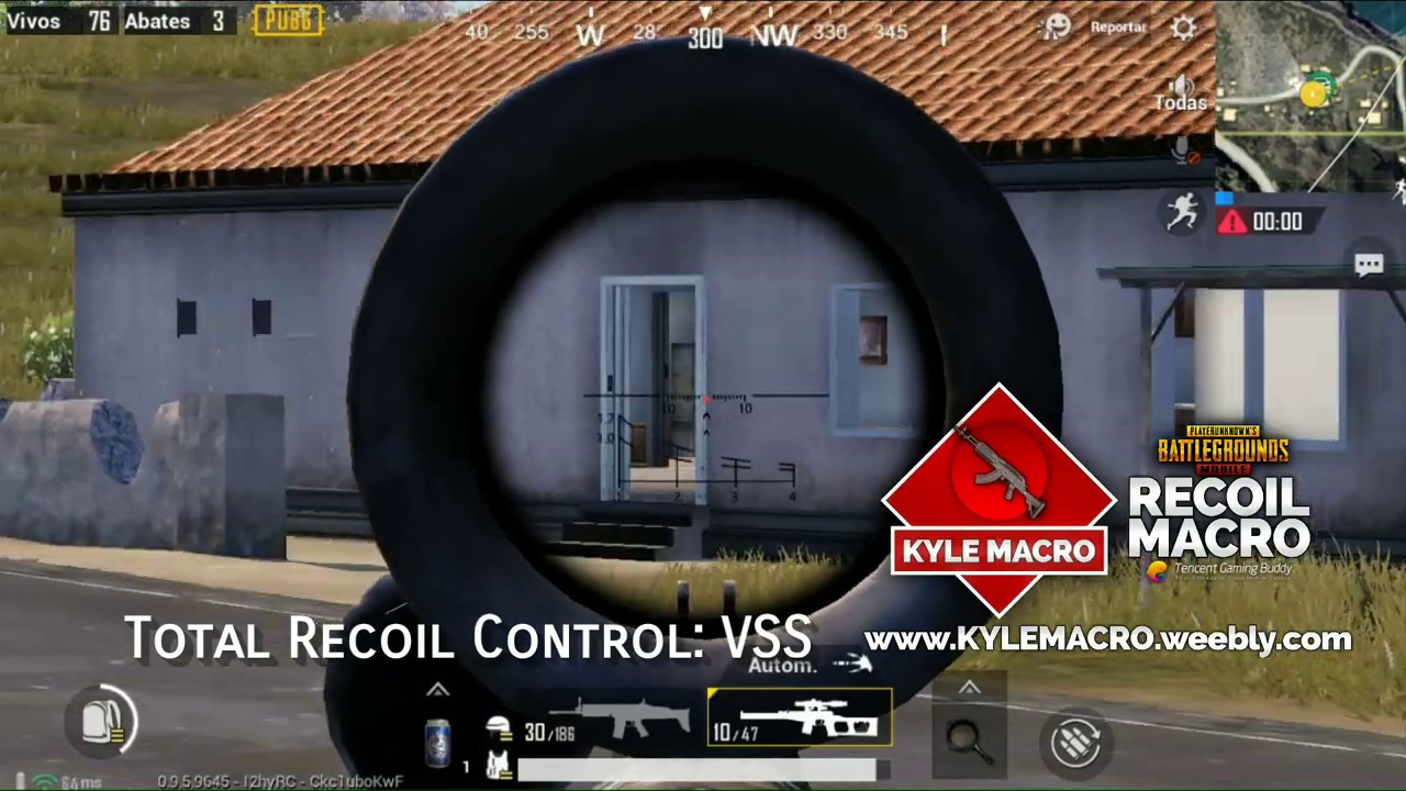 No Recoil Script Macro - PUBG MOBILE | www KYLEMACRO weebly com