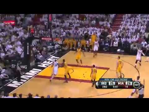 1a87696c2cb Indiana Pacers Vs Miami Heat - NBA Eastern Conference Finals 2013 Game 7 -  Full Highlights 6 3 13
