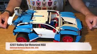 Fastest Motorized 42077 LEGO Rally Car