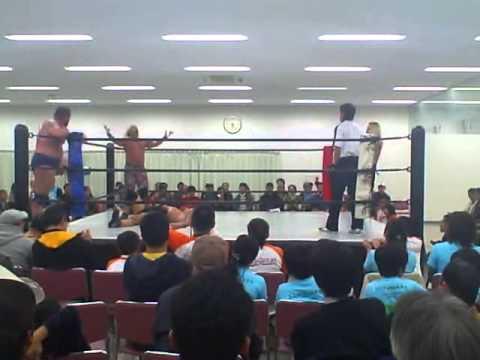 Ricky Fuji & One Man Kru vs. The Kabuki & Fugofugo Yumeji w/ The Great Kabuki