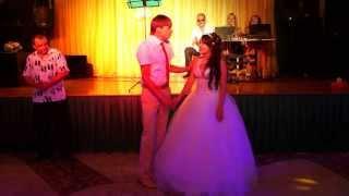 Свадебная сказка)жених и невеста зажигают!!!Невеста супер♥