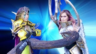 Cosplay Showdown w/ Jessica Chobot and Michele Morrow (Blizzcon 2015)