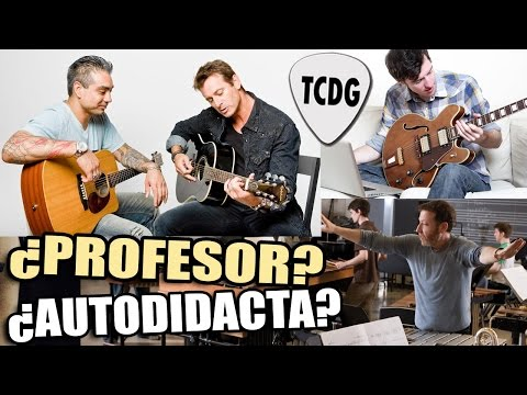 FIN DE LA POLÉMICA!  ¿Es Mejor Aprender Guitarra Con Profesor, Escuela De Música o Autodidacta?