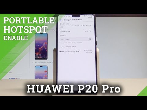 How to Enable Portable Hotspot on HUAWEI P20 Pro - Wi-Fi