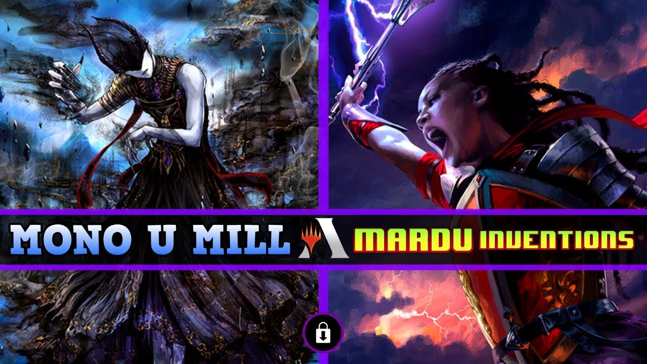 RENDER THE GAME OVER! – Mono U MILL VS Mardu Inventions – MTG Arena RANKED