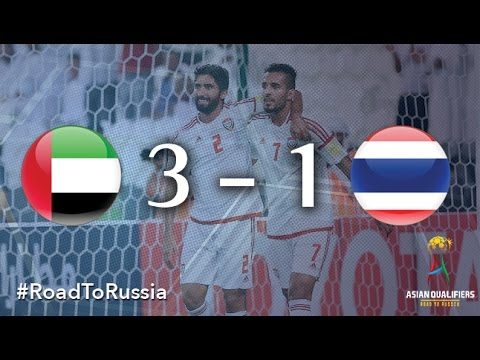 UAE vs Thailand (Asian Qualifiers - Road to Russia)