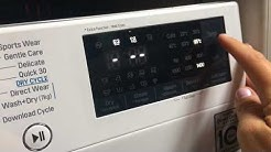 Product review for LG Eco Hybrid™ With TrueSteam