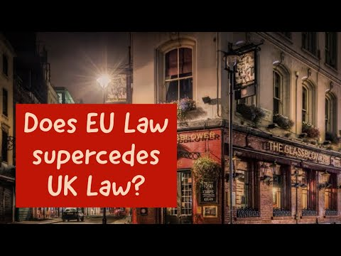 29 - Supermacy of EU Law