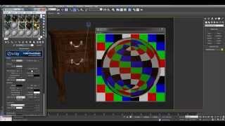 3D Max - Урок 3D max и vray - урок по созданию материала дерева - Vray материал