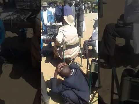 Oviritje Rax Kandjoze at Oom Rica Uatokuja Katjiruru funeral