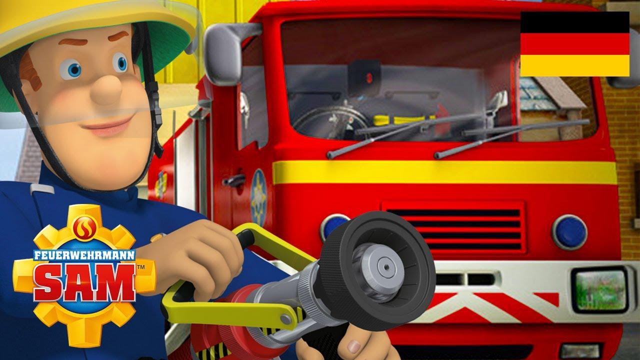 schmutziger Feuerwehrmann
