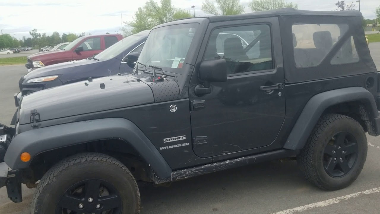 Fix Soft Top Wind Noise In Jeep Wrangler Jk For Under 10 Youtube