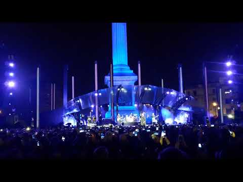 U2: One - Live at Trafalgar Square, London, MTV EMA  2017.11.11.