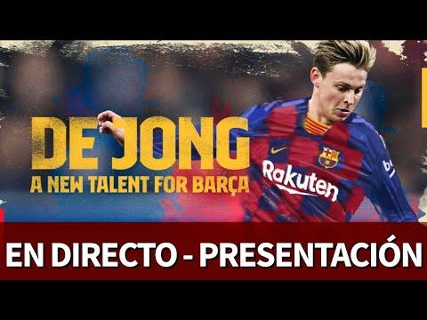 Presentación de DE JONG con el BARCELONA en DIRECTO | Diario AS
