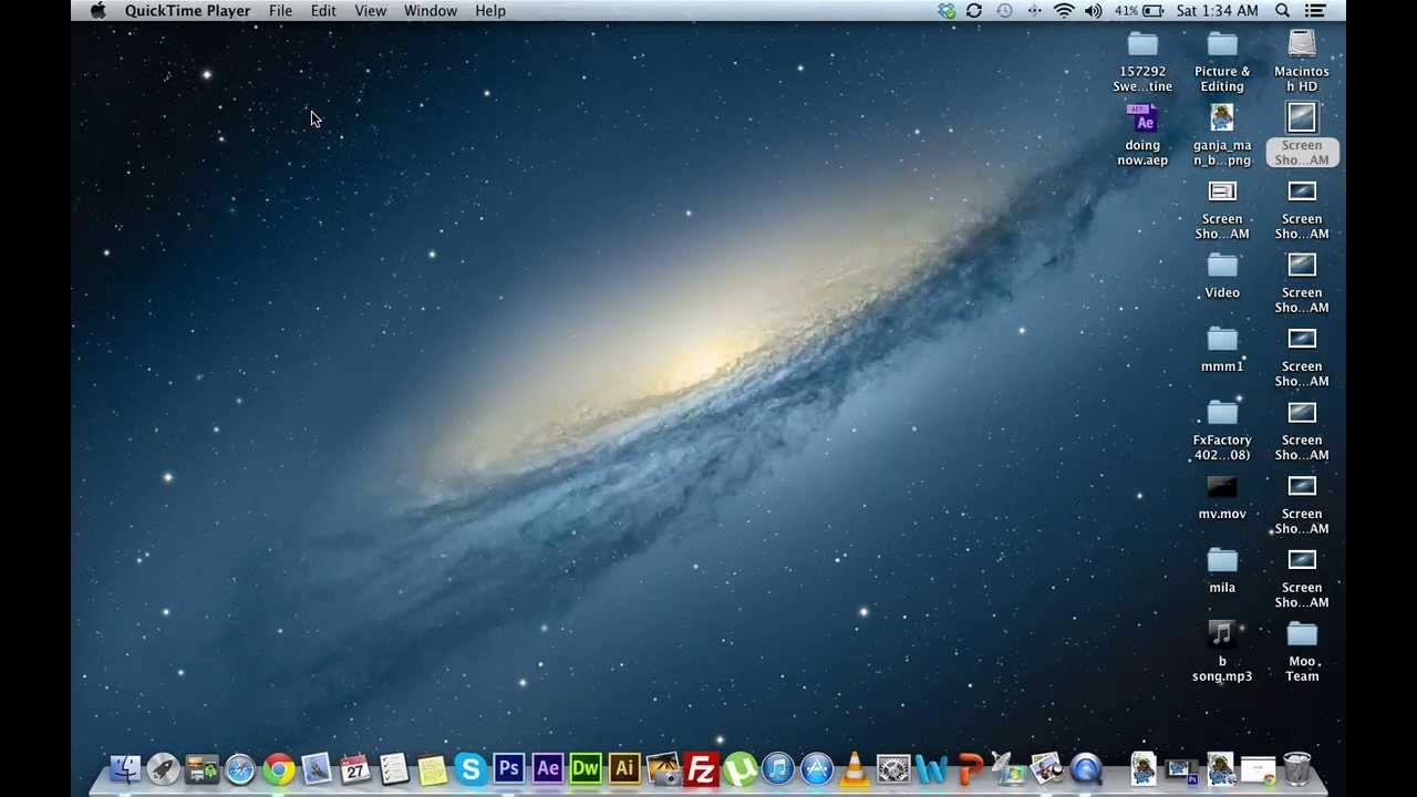 How To Capture Screenshot In Mac Os X For Full Screen And Selected Region
