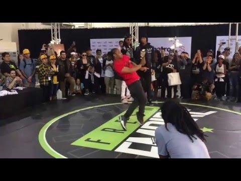 Les Twins + Fik-Shun Battle on Fresh Empire Stage   #WODLA16 #FreshEmpire
