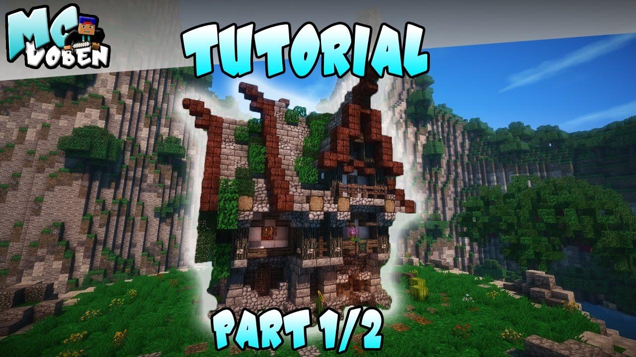 Minecraft mittelalterliches haus bauen tutorial deutsch for Minecraft haus bauen