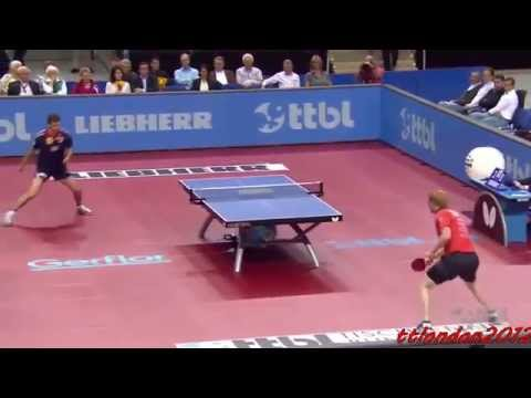 Timo Boll vs Christian Suss (German League 2015) Final [C.Suss last match of his career]