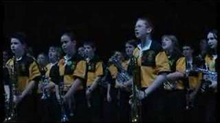 Mount Charles Youth Band at the Schools Proms