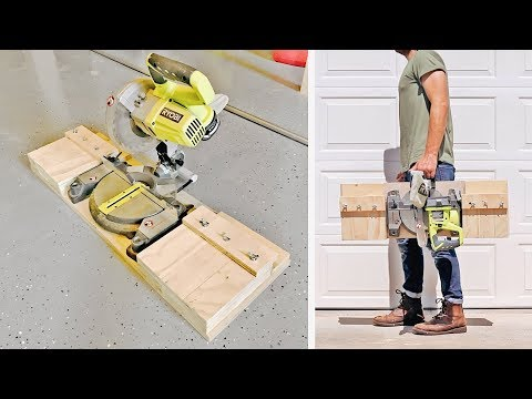 diy-portable-miter-saw-stand-/-station-|-shop-projects