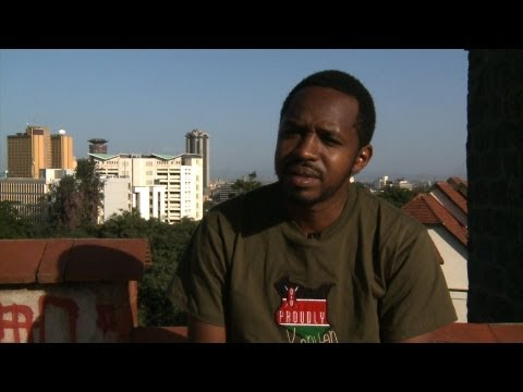 Boniface Mwangi, Photo activist in Nairobi