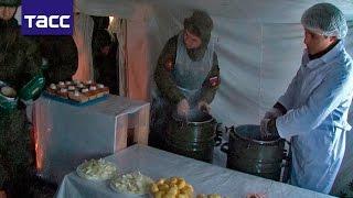 Более 100 пунктов обогрева развернули в воинских частях на Урале из за морозов
