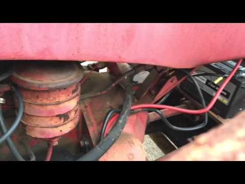 wiring for a massey harris tractor massey harris 12 volt conversion part 2 youtube  massey harris 12 volt conversion part 2