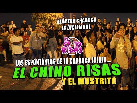 El Chino Risas y El Mostrito 'Los Espontáneos De La Chabuca' 18 De Diciembre 2018