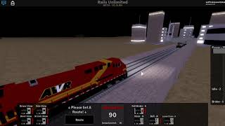 Roblox Rails Unlimited | Re-creating the lash-up derailment from unstoppable