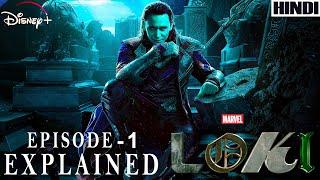 Loki Episode 1 Explained in HINDI | MARVEL | Disney + | Thumb