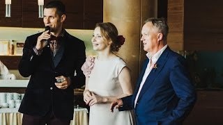 Ведущий свадеб на английском Кирилл Исаев. Отзыв Стига и Марии. Отель Ambassador