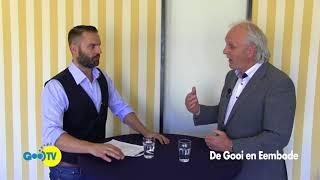 In gesprek met Pieter Broertjes, burgemeester van Hilversum  04-07-2018