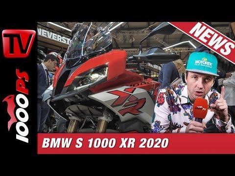 BMW S 1000 XR 2020 leichter und noch schneller - Vergleich und Unterschiede zu Vorgänger u. S1000RR