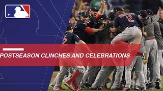 Check out every clinching moment from the postseason