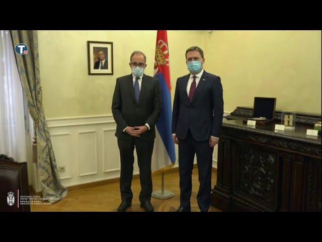 Министар Селаковић примио у опроштајну посету амбасадора Аргентине
