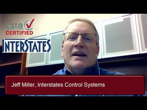 Jeff Miller of Interstates Control Systems - Interview with a Certified system integrator