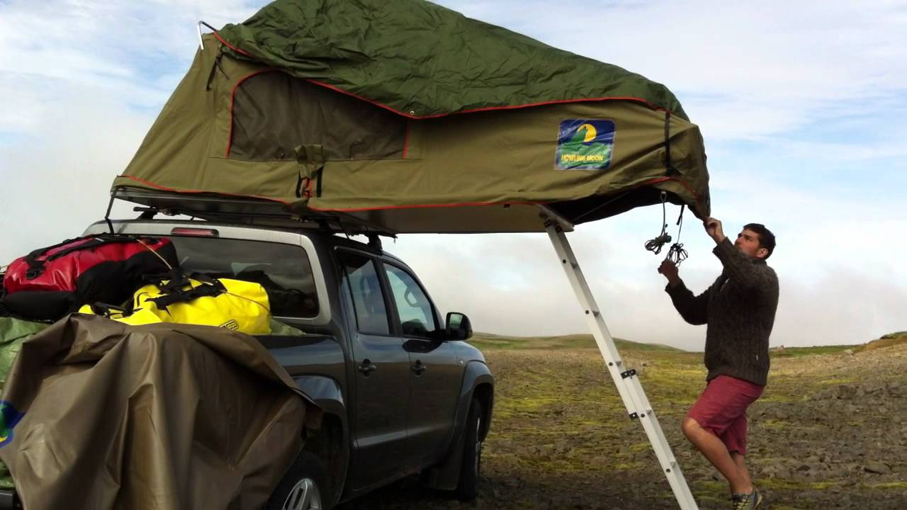 Iceland Roof Top Tent Youtube