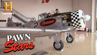 Pawn Stars: Rick BLOWN AWAY by WWII FIGHTER PLANE (Season 6) | History